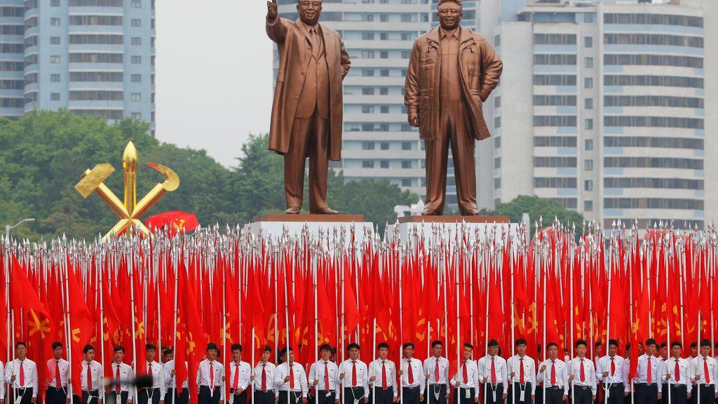 Desfile en Pyongyang