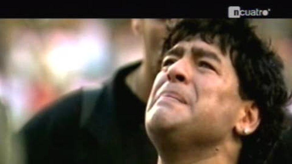 Los contrastes de Maradona