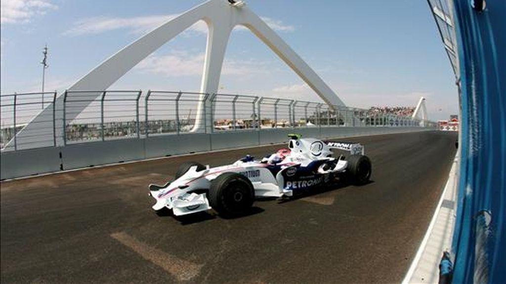 Kubica estrenó el circuito