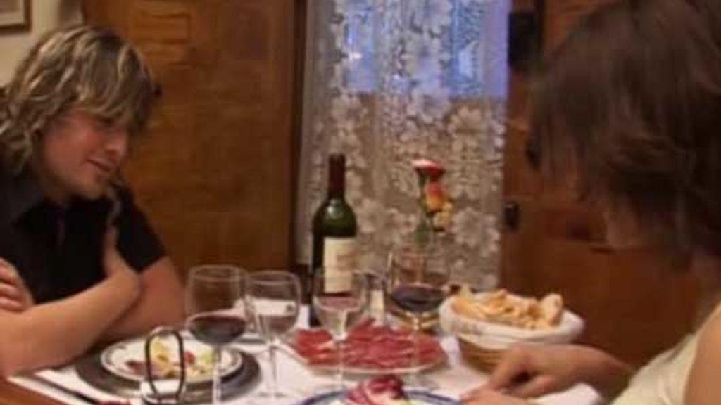Verónica con Antonio y Jaime