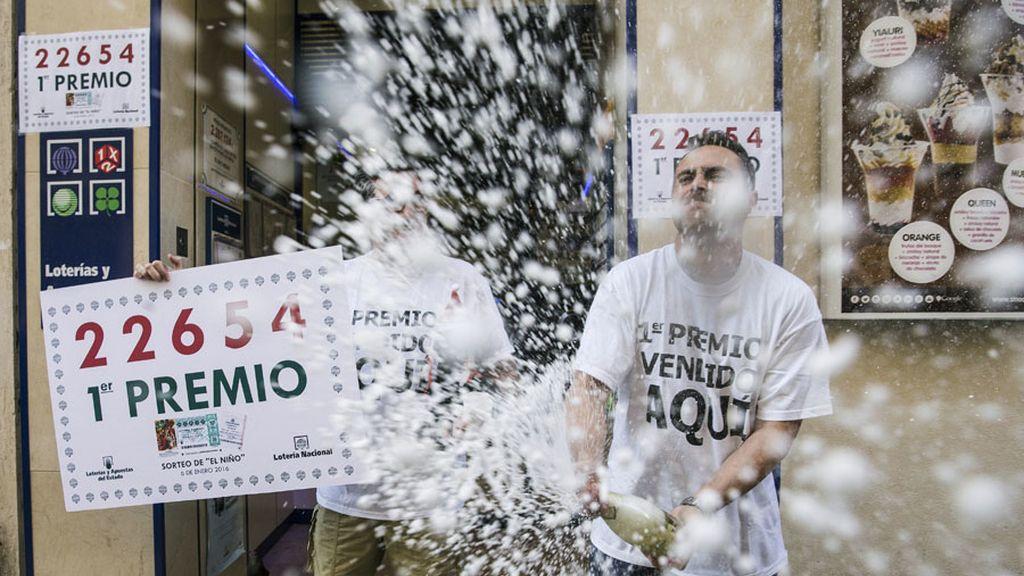 El primer premio del sorteo de 'El Niño', para el número 22654