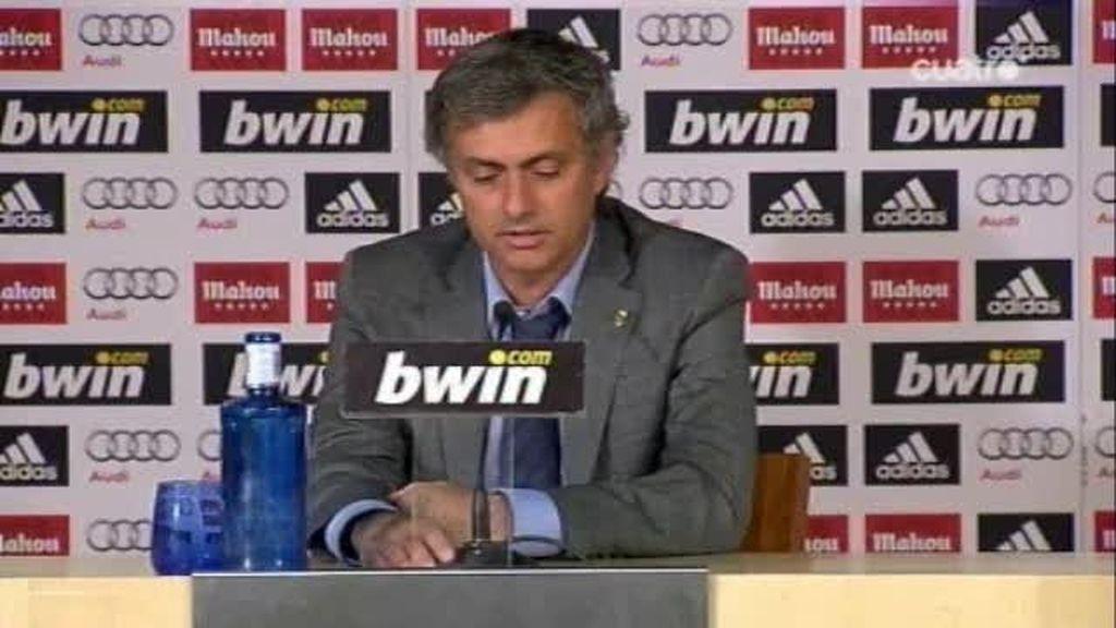 Mourinho le pone un 10 a su Real Madrid