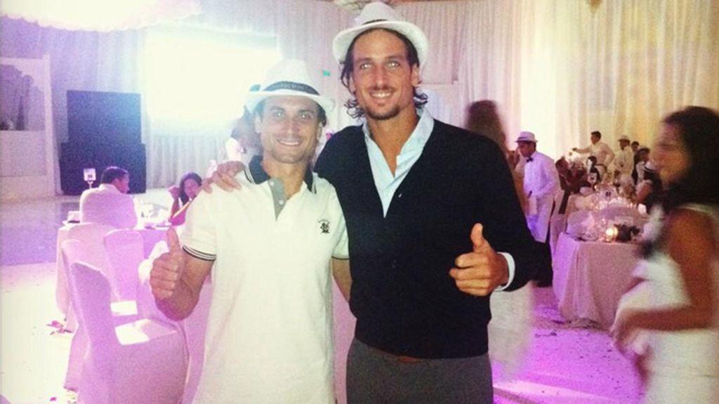 Año nuevo en Doha con Ferrer y Feliciano