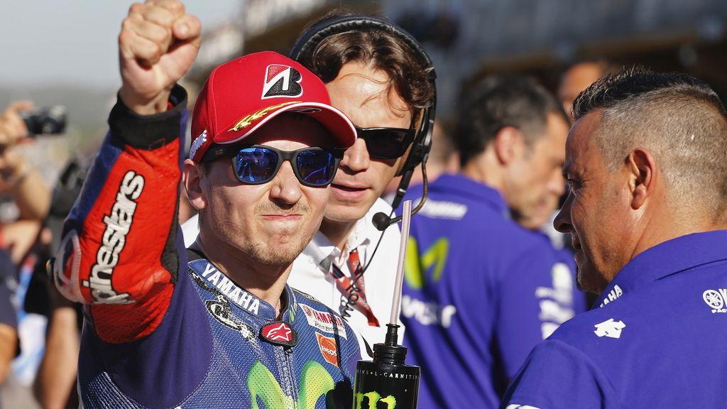 Lorenzo se proclama campeón de MotoGP por tercera vez