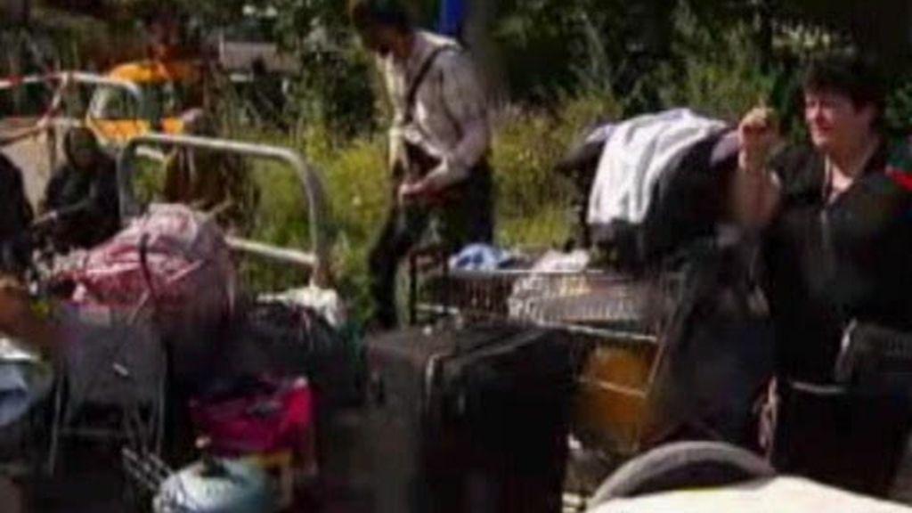 Campamentos gitanos desmantelados en Francia