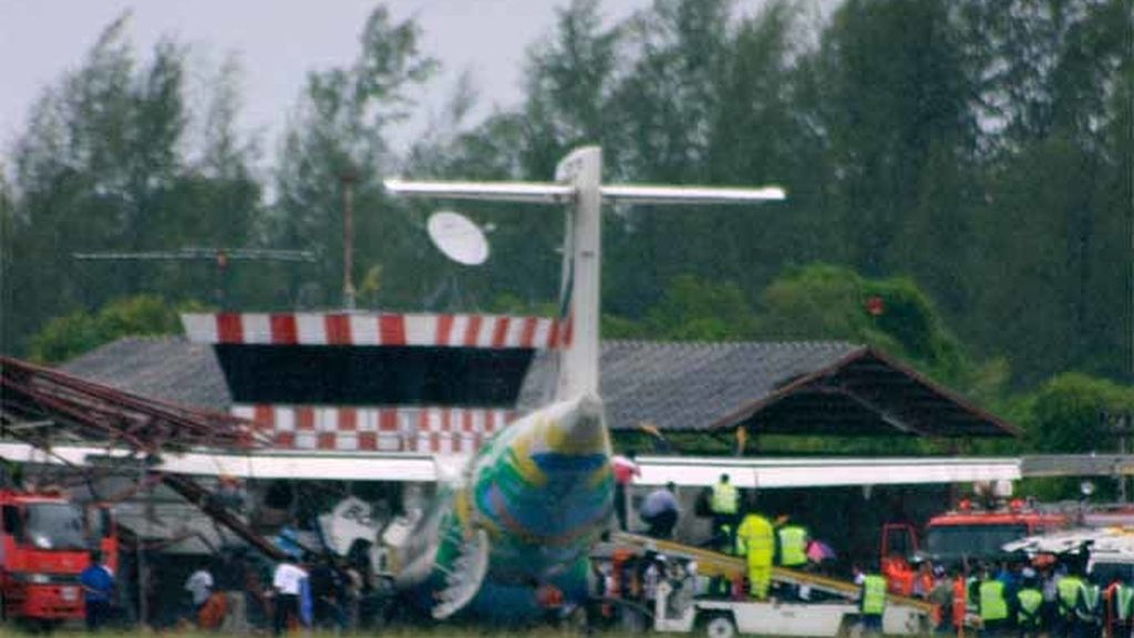 Accidente de avión en Tailandia
