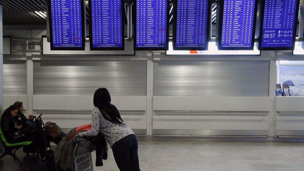 Anulados 30 vuelos desde España a Bruselas