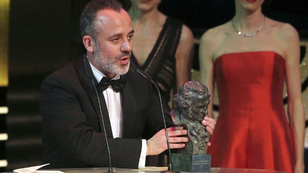 Javier Gutiérrez, Goya a la Mejor Interpretación Masculina Protagonista por su papel en 'La Isla Mínima'