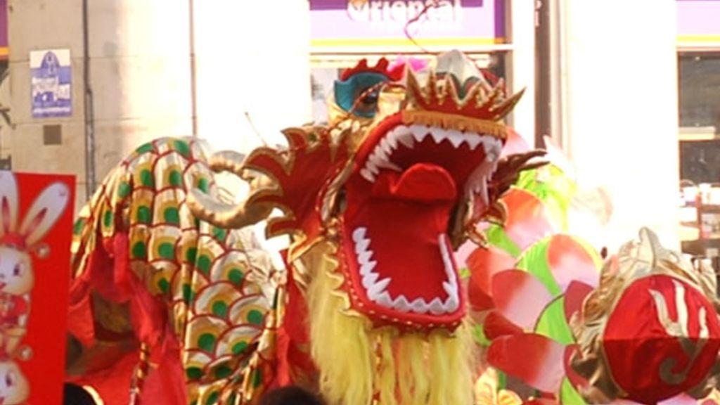 Los dragones no faltan en la cultura chicna