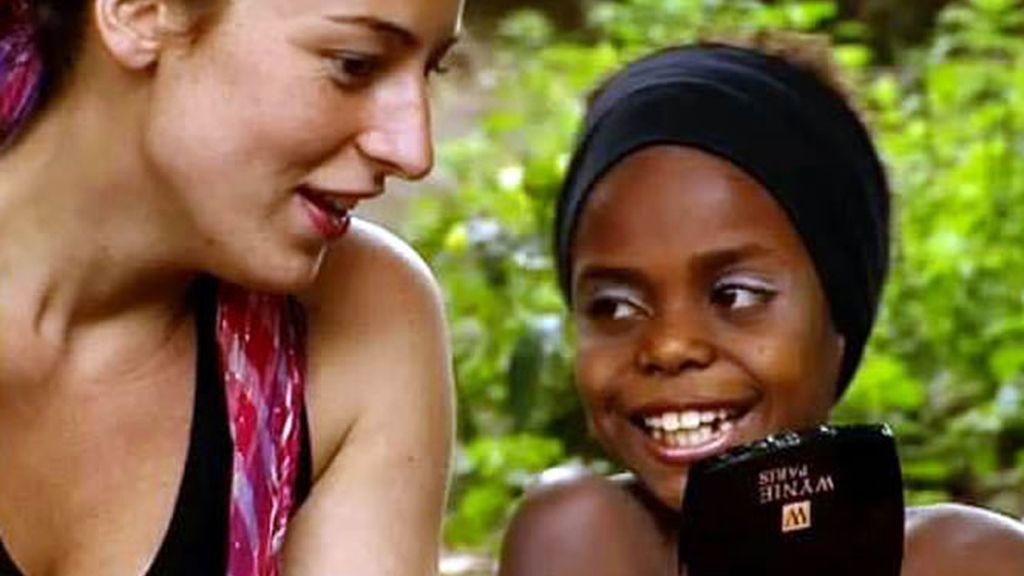 Raquel, asesora de imagen de las nakulamené