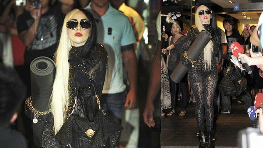 Lady Gaga: estilo vs. comodidad