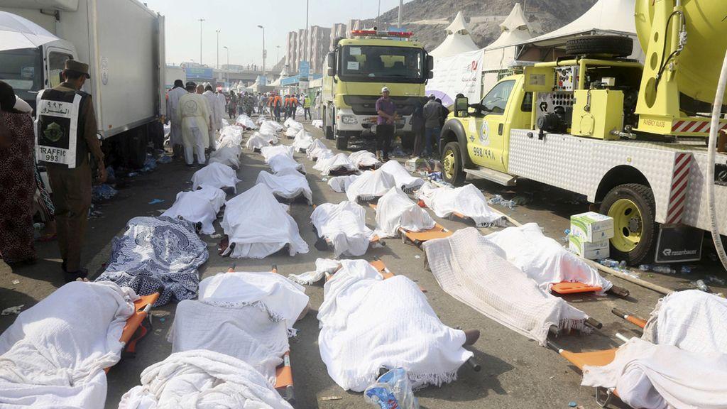 Más de 700 peregrinos fallecidos en La Meca