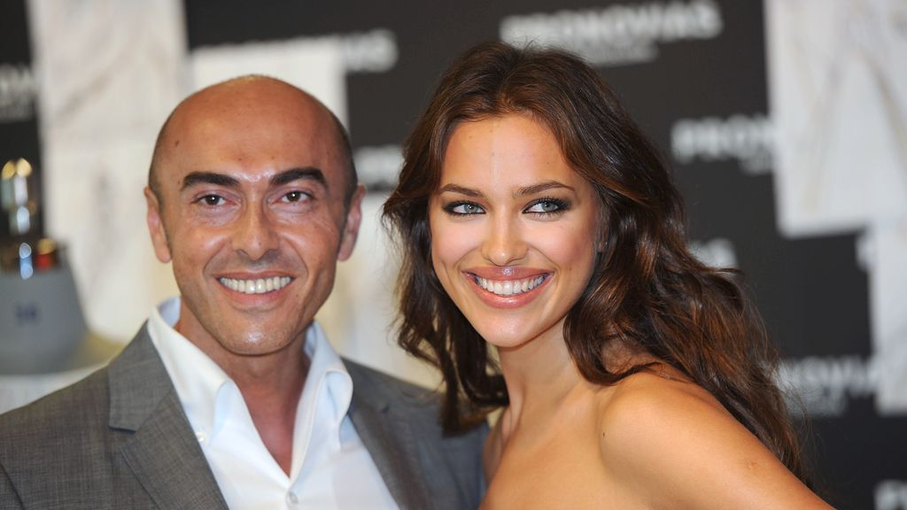 Manuel Mota con Irina Shayk