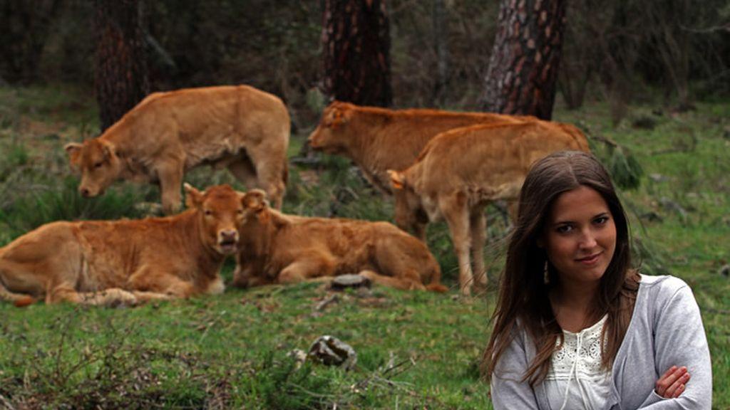 Ana Fernández disfruta y nos muestra lo que más le gusta del Monte Abantos