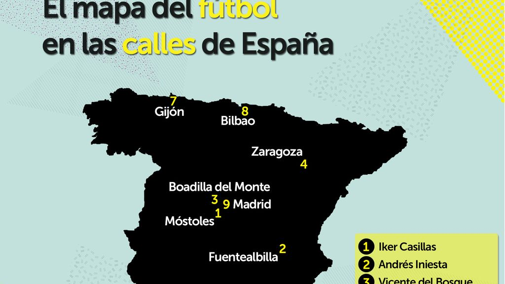 mapa calles fútbol