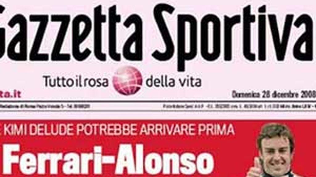 """Alonso y Ferrari tienen un """"pacto secreto"""" para la temporada de 2011, según revela el diario italiano 'La Gazzetta dello sport'"""