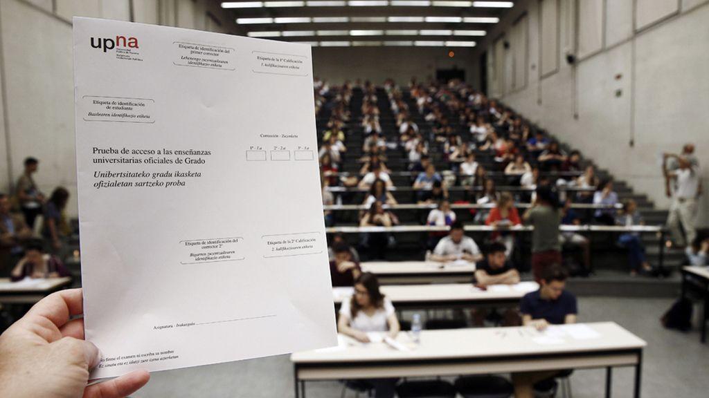 Los estudiantes se enfrenta a la temida selectividad