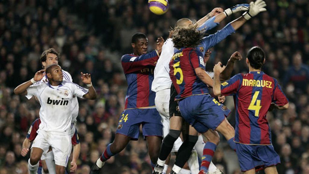 El 'clásico' del 2007 acabó dando la victoria al Real Madrid