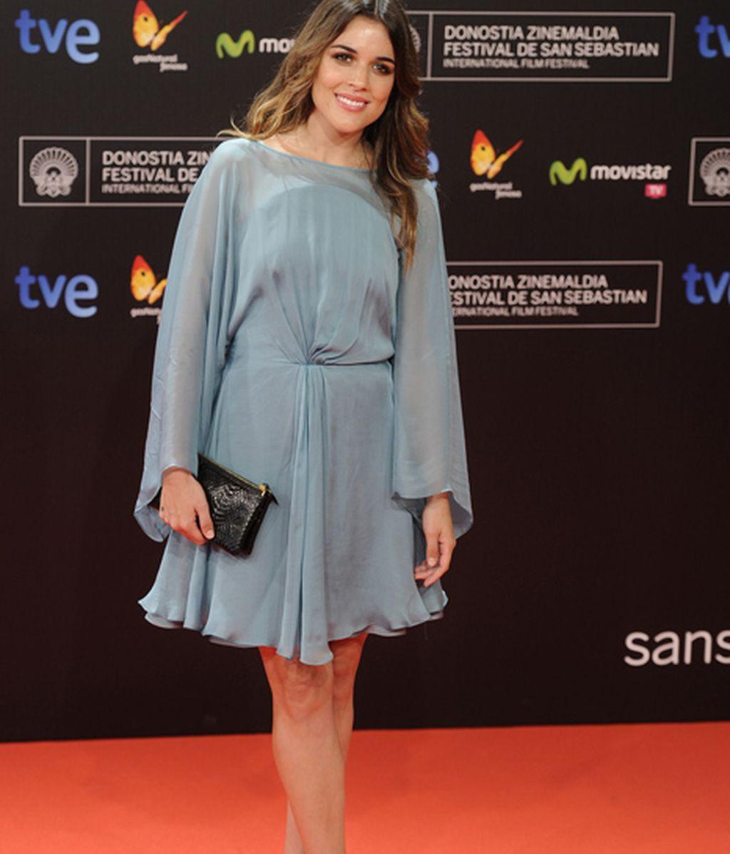 Adriana Ugarte, hermosa y radiante