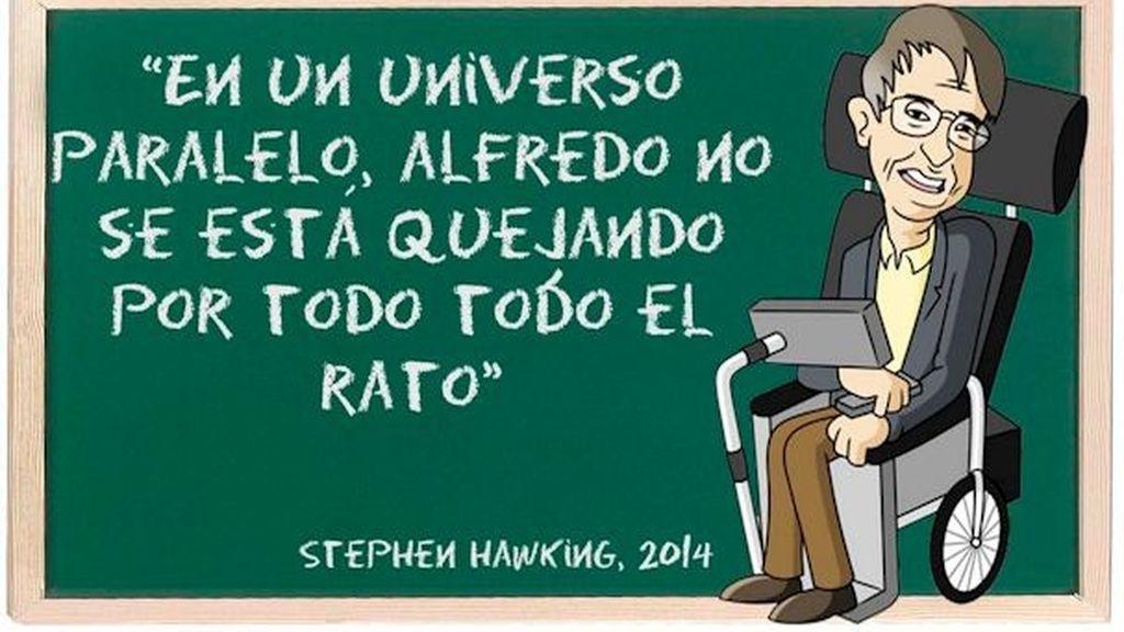 Stephen Hawking en GH