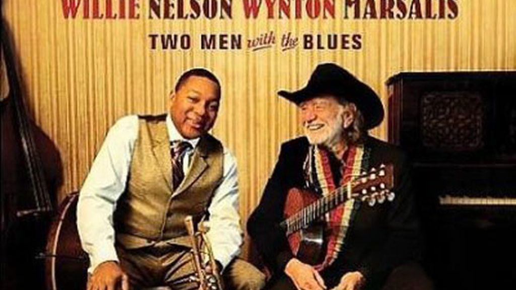 """Two men with the blues"", de Willy Nelson y Wynton Marsalis"