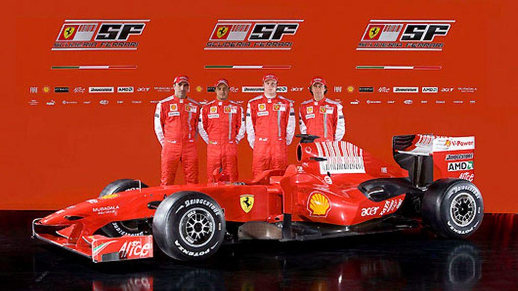 El monoplaza de Ferrari para 2009