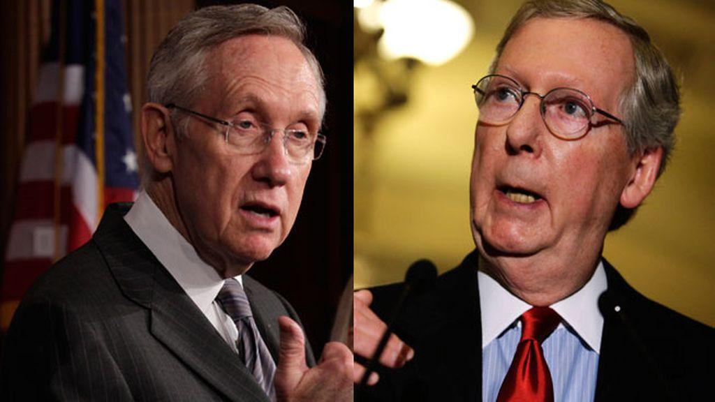 Los senadores que mantendrán el contacto para evitar el abismo fiscal