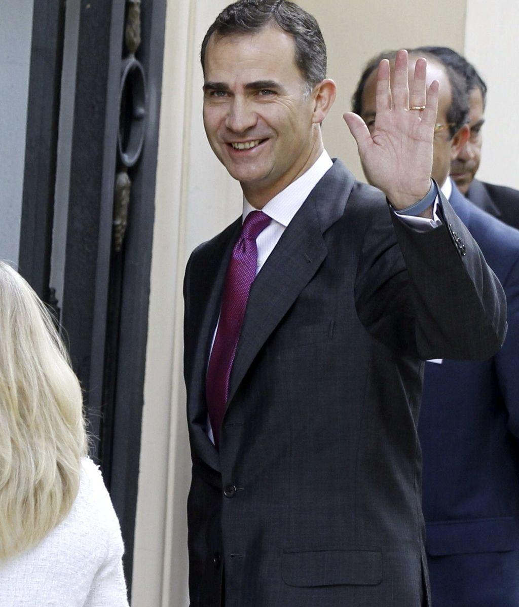 El príncipe de Asturias con las pymes