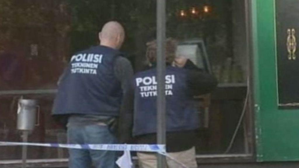 Un francotirador mata a dos personas y hiere a otras ocho en el sur de Finlandia