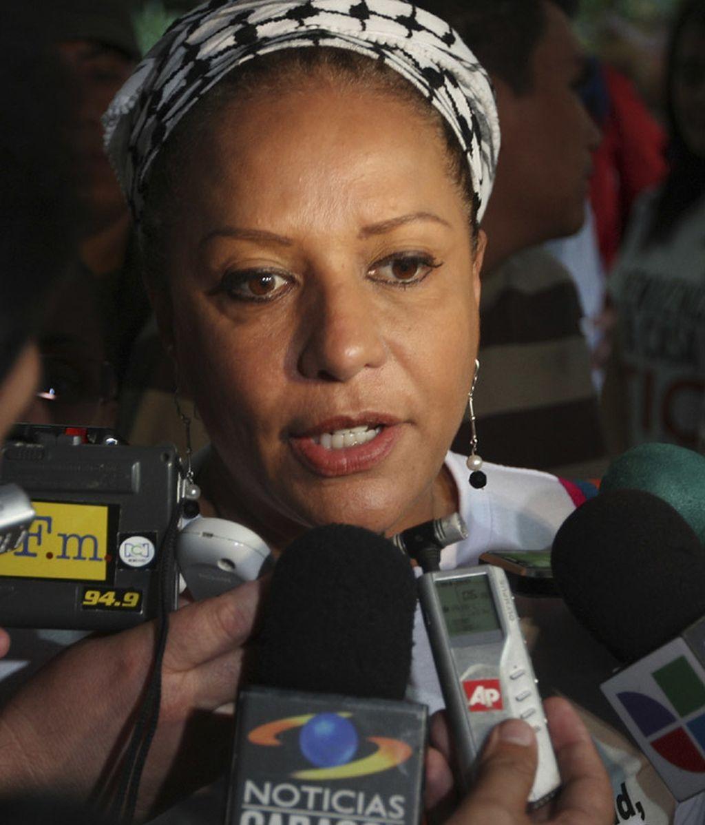 La senadora Piedad Córdoba