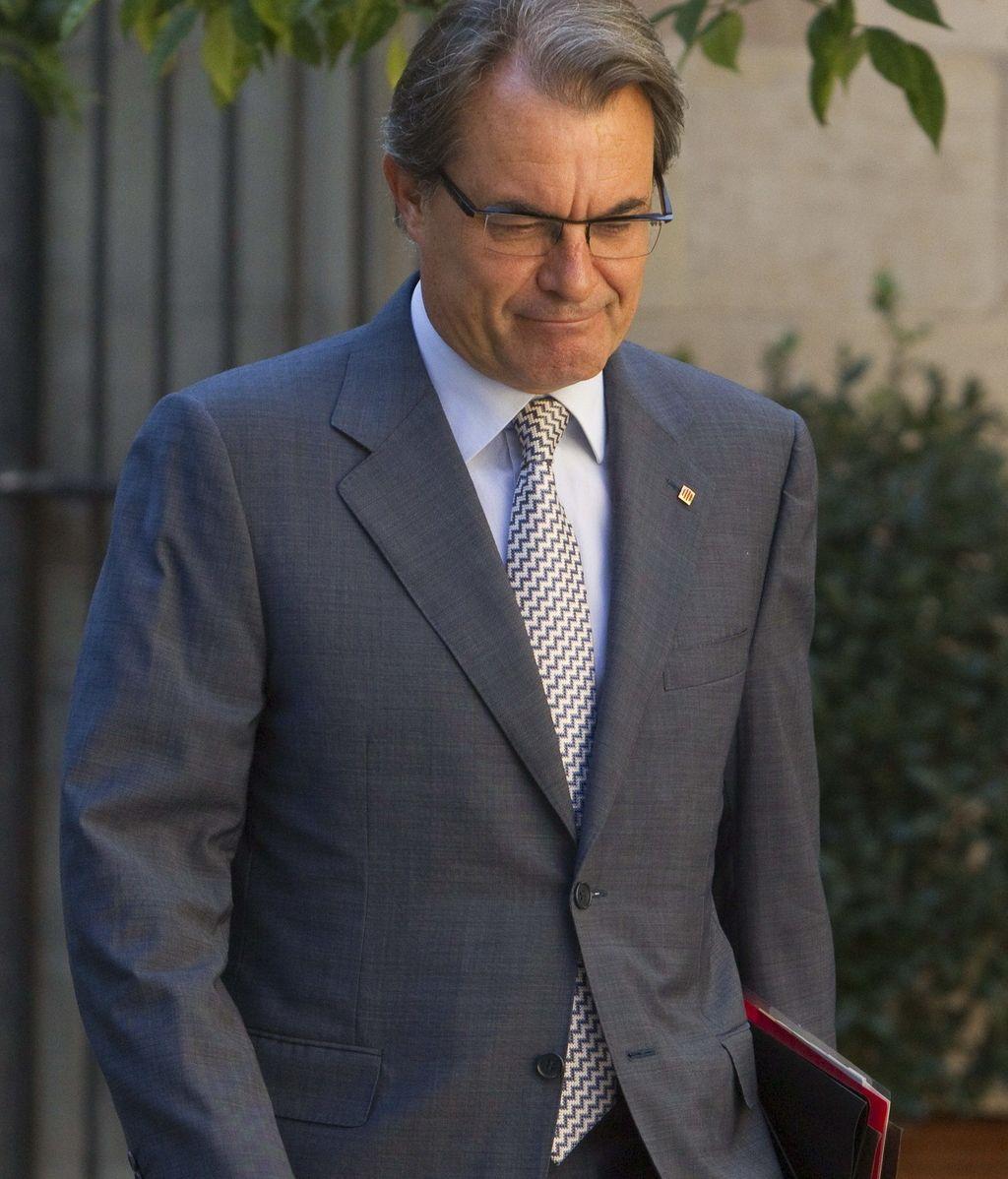 """Artur Mas afirma que Cataluña demostrará en los próximos días su capacidad de """"hacer piña"""""""