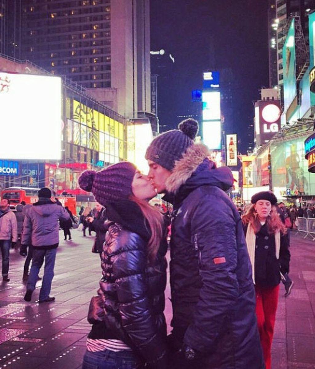 Marc Bartra y Melissa Jiménez, amor en Nueva York