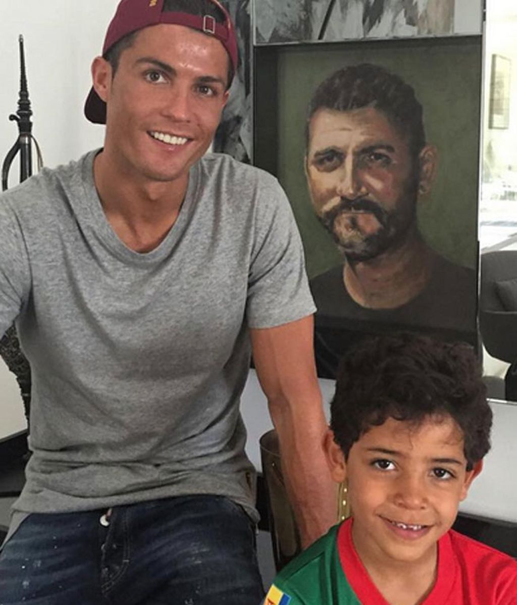 "Cristiano Ronaldo: ""Happy Father's Day to all daddy's in the world"""