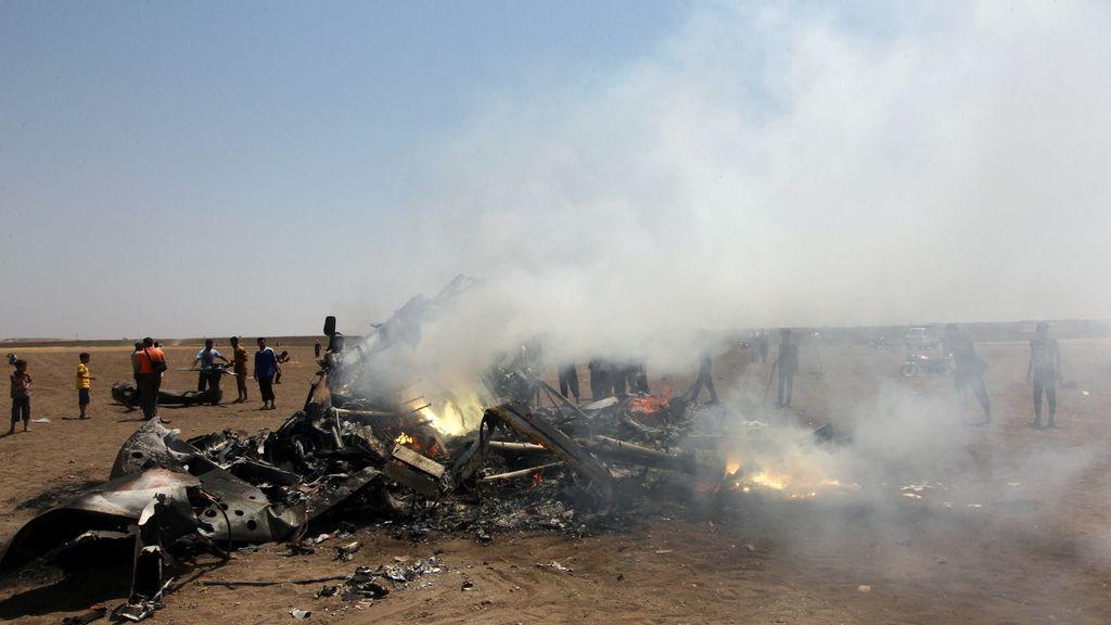 Rusia confirma la muerte de los cinco tripulantes del helicóptero derribado en Siria