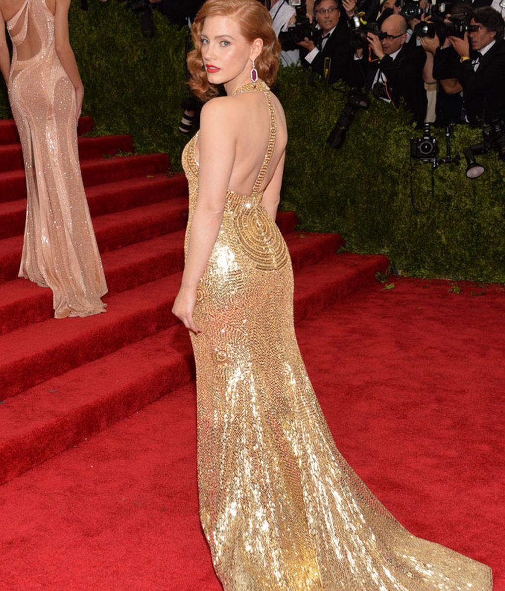 Jessica Chastain con vestido de Givenchy