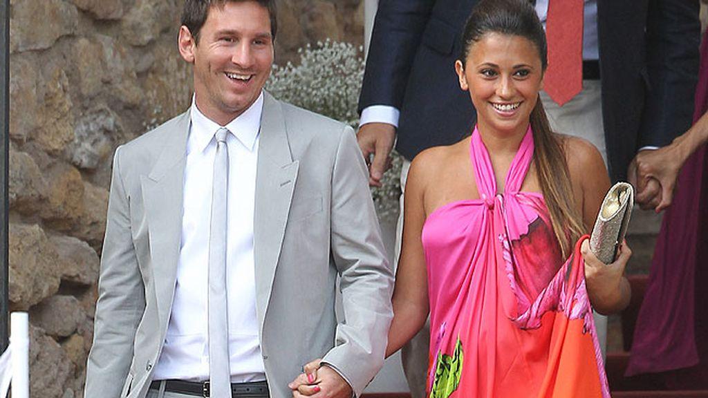 Lionel Messi y su chica, Antonella Roccuzzo