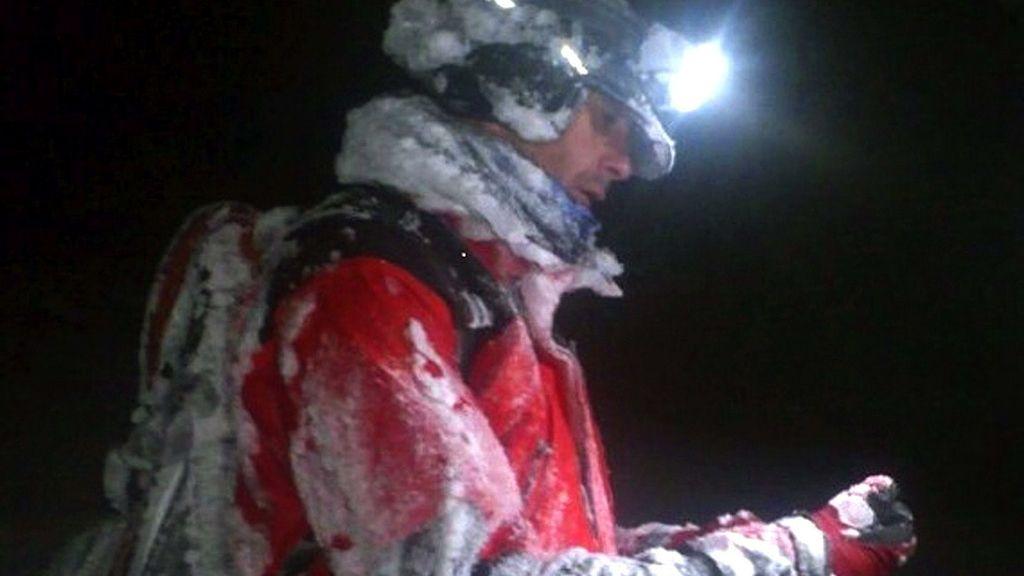Encontrados con vida los dos montañeros desaparecidos en Peñalara