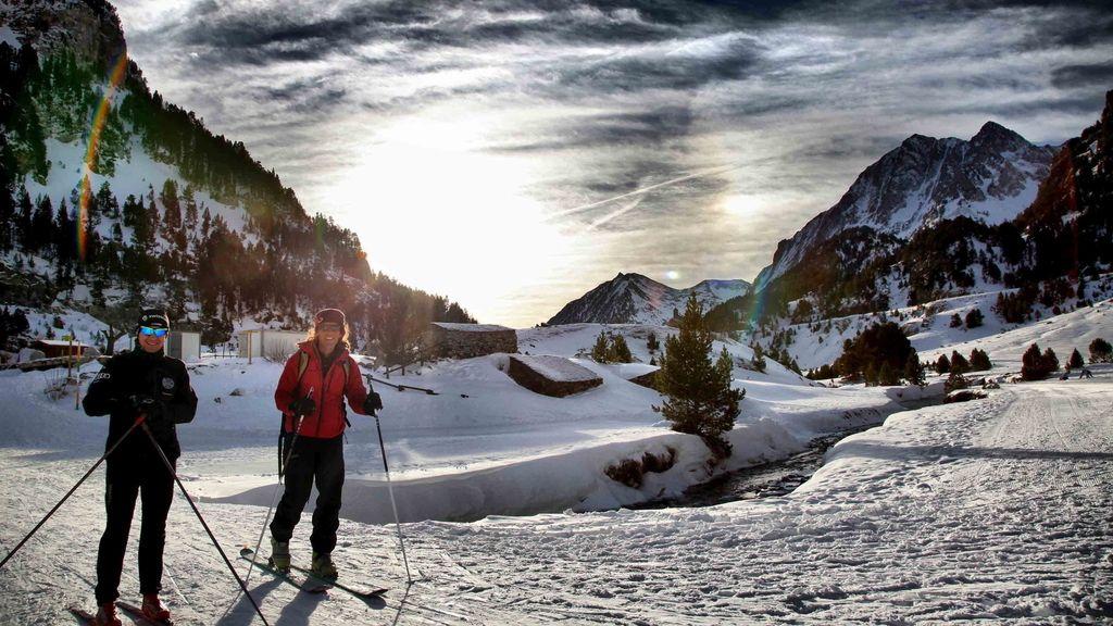 Estación de esquí Llanos del Hospital en Huesca