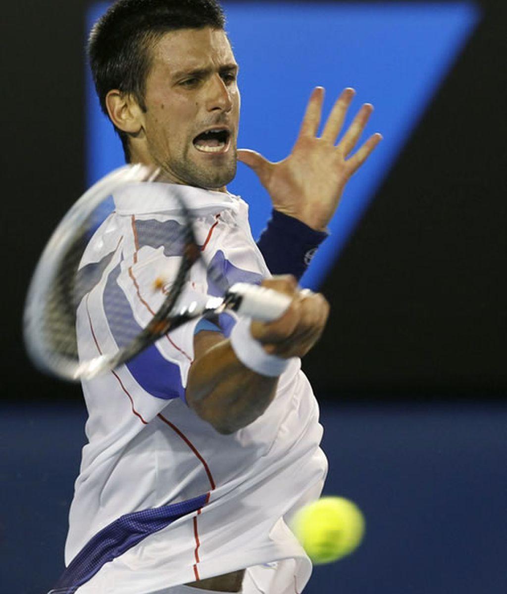 Novak Djokovic se lleva el primer ser frente a Andy Murray