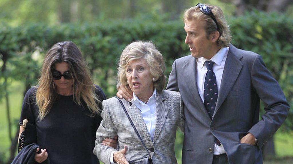 Covadonga O'Shea, hermana de la viuda de Emilio Botín