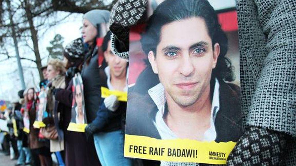 Concentración por Raif Badawi