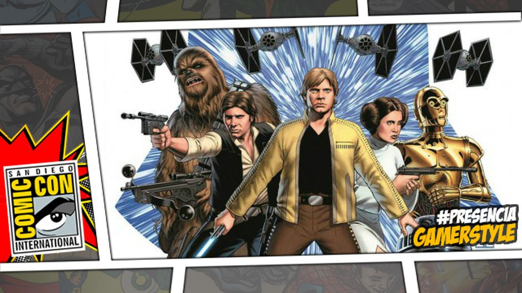 Darth Vader,Luke y Leia,comics,Star Wars