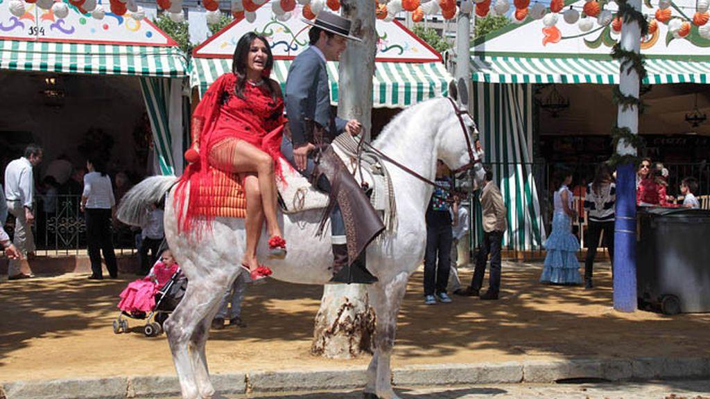 Invasión de Misses en la Feria