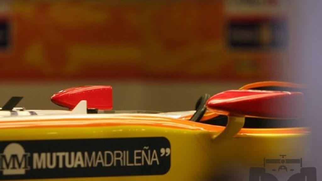 Primeras imágenes del R-29 de Alonso