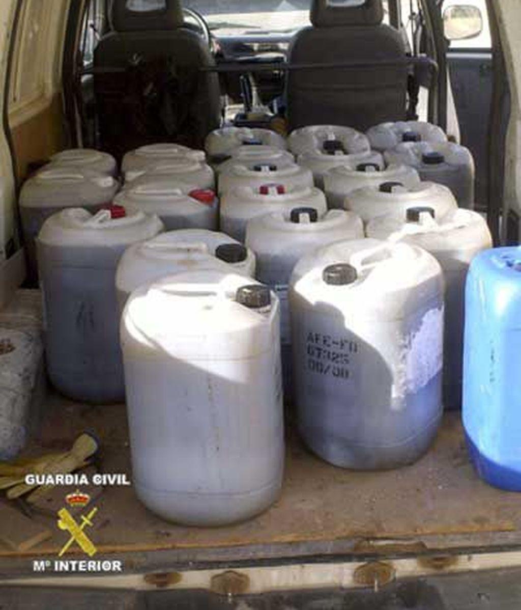 Aceite contaminado en La Rioja