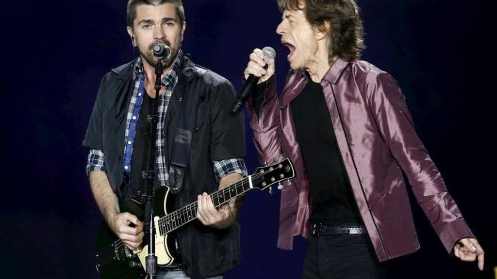 Juanes y The Rolling Stones