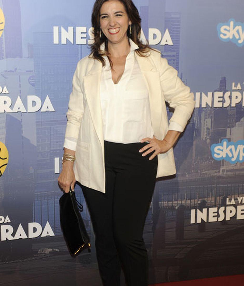 La actriz Llum Barrera fue otra de las asistentes