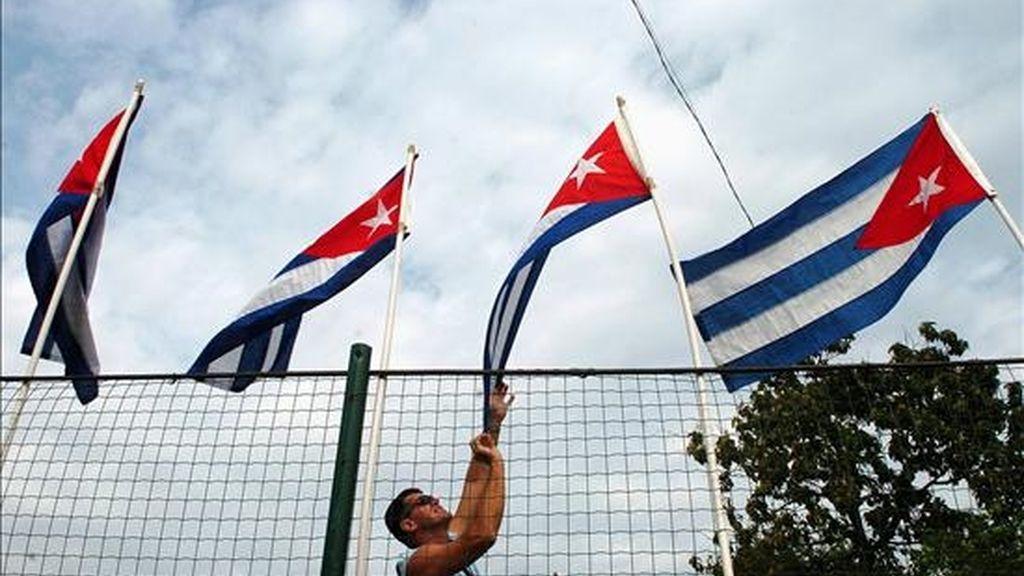 """La Revolución Cubana, deice Chávez, es """"ejemplo de dignidad para todos los pueblos latinoamericanos, caribeños y del mundo que luchan por la autodeterminación de los pueblos y la justicia"""". EFE/Archivo"""