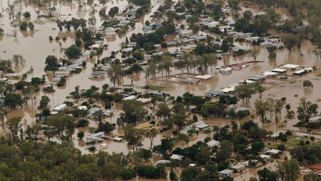 Queensland bajo las aguas este 2 de enero
