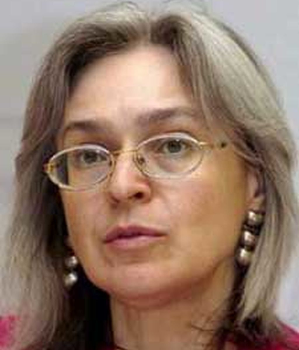 La periodista rusa asesinada, Anna Politkóvskaya. Foto: EFE